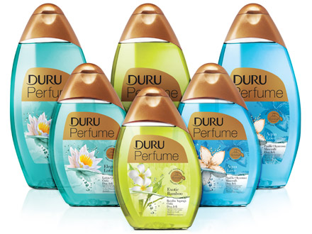 DURU Perfume Fresh Shower Gel Series