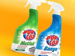 Porçöz Household Cleaner Sprays